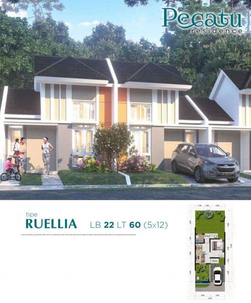 Pecatu residence citra maja raya tipe ruellia