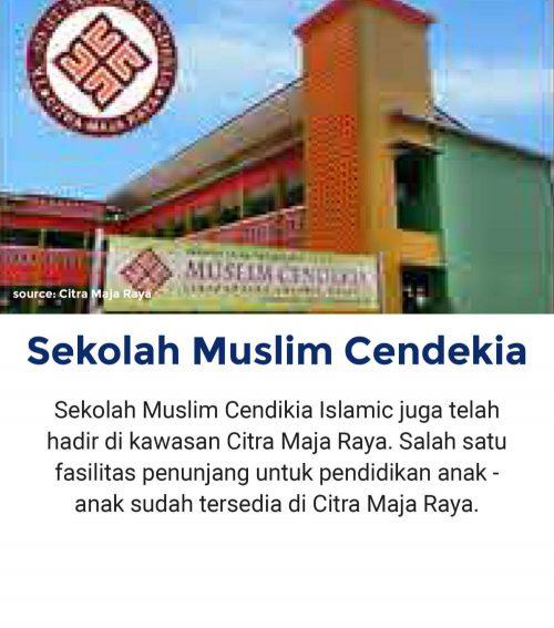 Sekolah Muslim Cendekia Fasilitas Citra Maja Raya